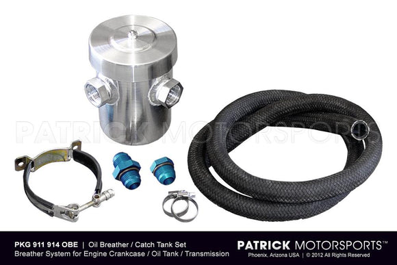 OIL BREATHER CATCH TANK SET FOR ENGINE CRANKCASE VENTILATION- OIL911914OBEPMS