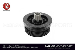 OIL FILTER ADAPTER - (1997-2008) PORSCHE BOXSTER / CAYMAN / 996 / 997- OIL986996OFA