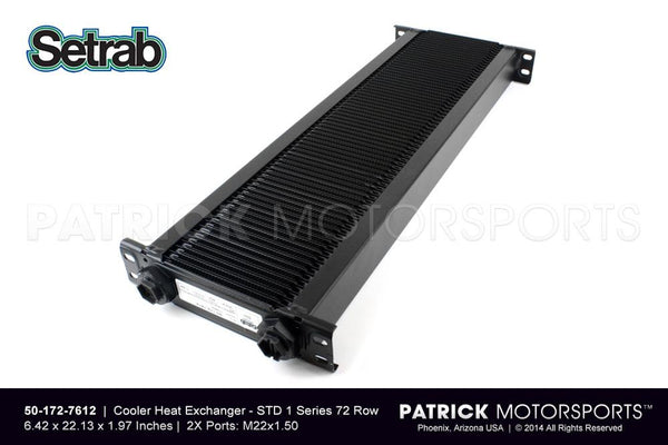 Heat Exchanger / Oil Cooler - 72 Row Pro Line Std 1 Series - Setrab OIL SET 50 172 7612 / OIL SET 50 172 7612 / OIL-SET-50-172-7612 / OIL.SET.50.172.7612 / OILSET501727612