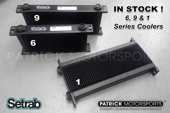 Heat Exchanger / Oil Cooler - 10 Row Pro Line Std 9 Series - Setrab OIL SET 50 910 7612 / OIL SET 50 910 7612 / OIL-SET-50-910-7612 / OIL.SET.50.910.7612 / OILSET509107612