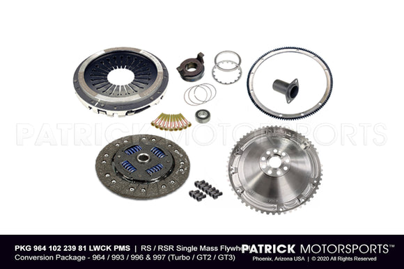 997 GT3 RS 4.0L Lightweight Flywheel & Clutch Package (PKG 964 102 239 81 LWCK PMS)