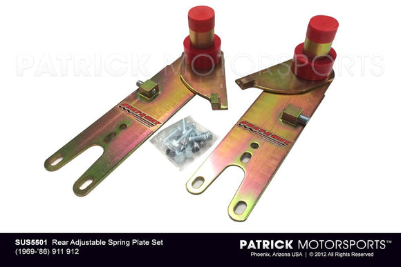 Porsche 911 / 912 Rear Adjustable Spring Plate Set SUS 5501 / SUS 5501 / SUS-5501 / SUS.5501 / SUS5501