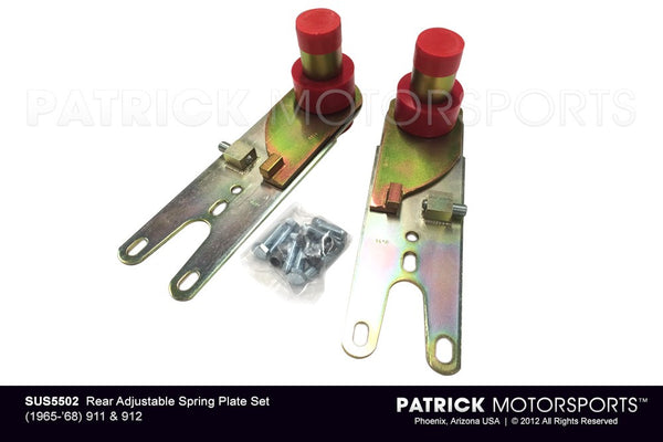 Porsche 911 / 912 Rear Adjustable Spring Plate Set SUS 5502 / SUS 5502 / SUS-5502 / SUS.5502 / SUS5502