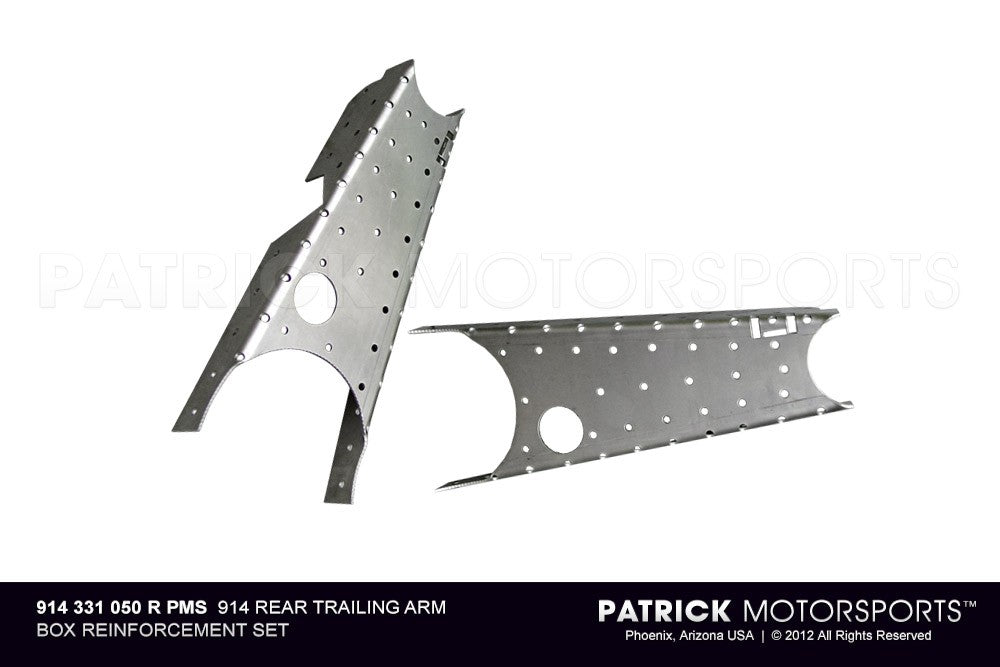 SUS 914 331 050 R PMS: 914 REAR TRAILING ARM BOX REINFORCEMENT SET
