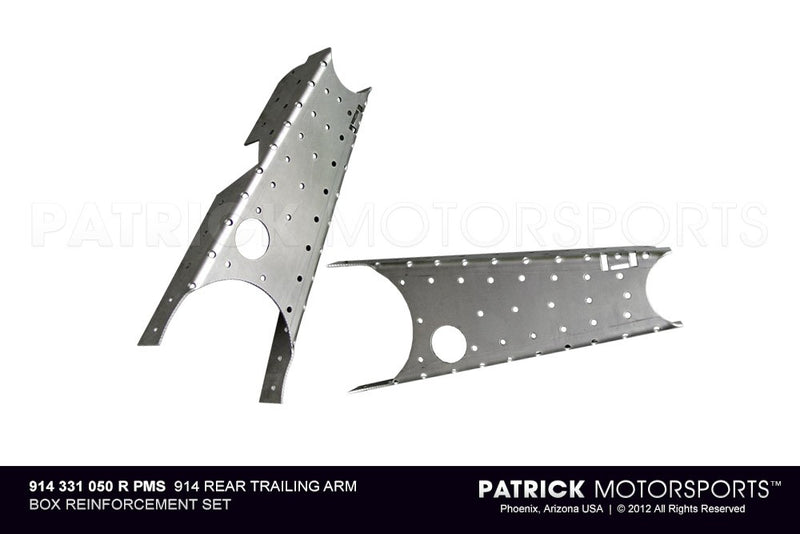 914 Rear Trailing Arm Box Reinforcement Set SUS 914 331 050 R PMS / SUS 914 331 050 R PMS / SUS-914-331-050-R-PMS / 914.331.050.R.PMS / 914331050RPMS