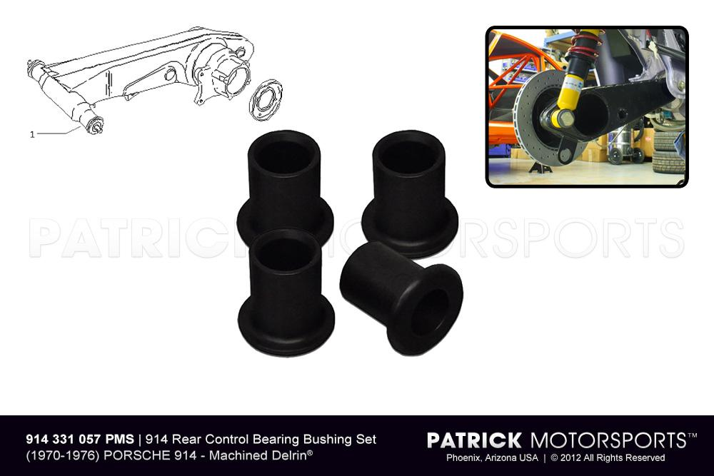 SUS 914 331 057 PMS: BUSHING SET 914 REAR AXLE CONTROL ARMS