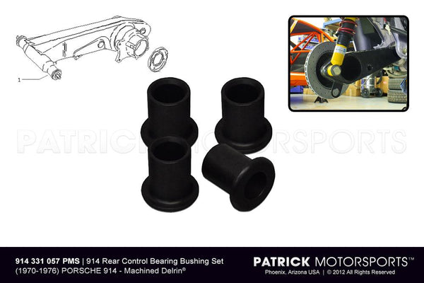 BUSHING SET 914 REAR AXLE CONTROL ARMS- SUS914331057PMS