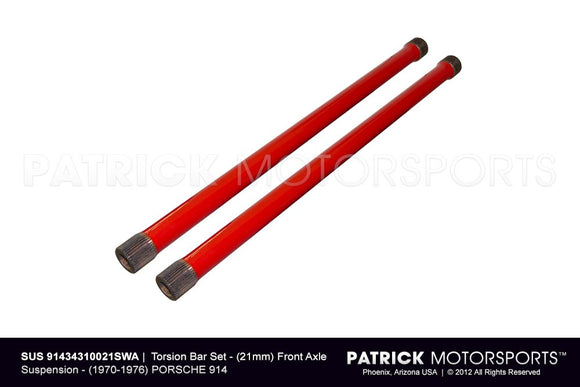 914 TORSION BAR SET - (21MM) FRONT AXLE SUSPENSION- SUS91434310021SWA