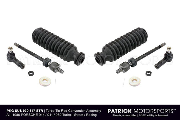 PORSCHE 911 930 TURBO TIE ROD ASSEMBLY STEERING CONVERSION- SUS930347STRPMS