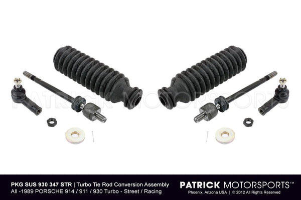Porsche 911 / 930 Turbo Tie Rod Assembly Steering Conversion SUS 930 347 STR PMS / SUS 930 347 STR PMS / SUS-930-347-STR-PMS / 930.347.STR.PMS / 930347STRPMS