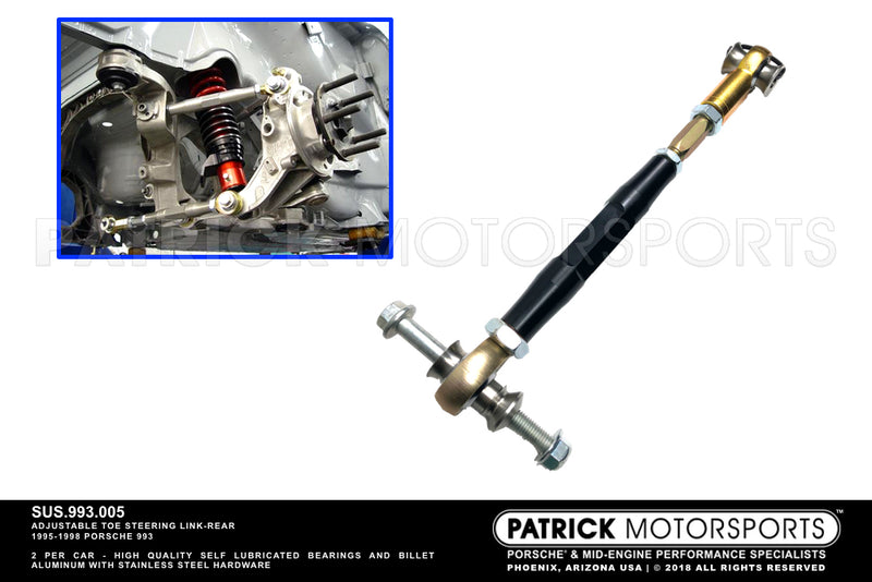 TOE STEERING LINK REAR SUSPENSION 993- SUS993005
