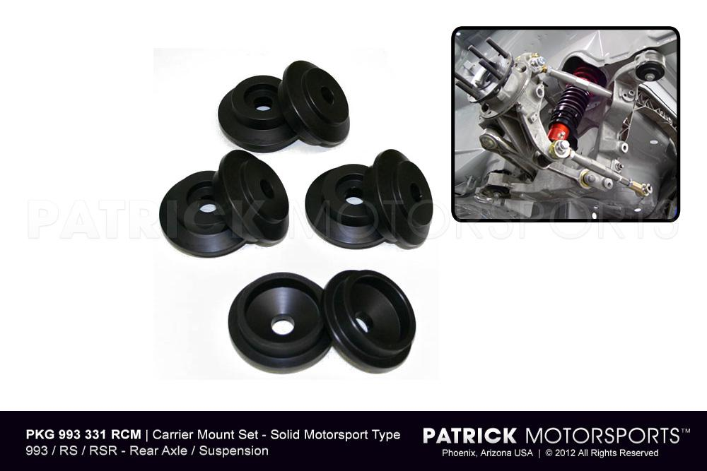 SUS 993 331 RCM PMS: 993 REAR SUSPENSION CARRIER MOUNT SET