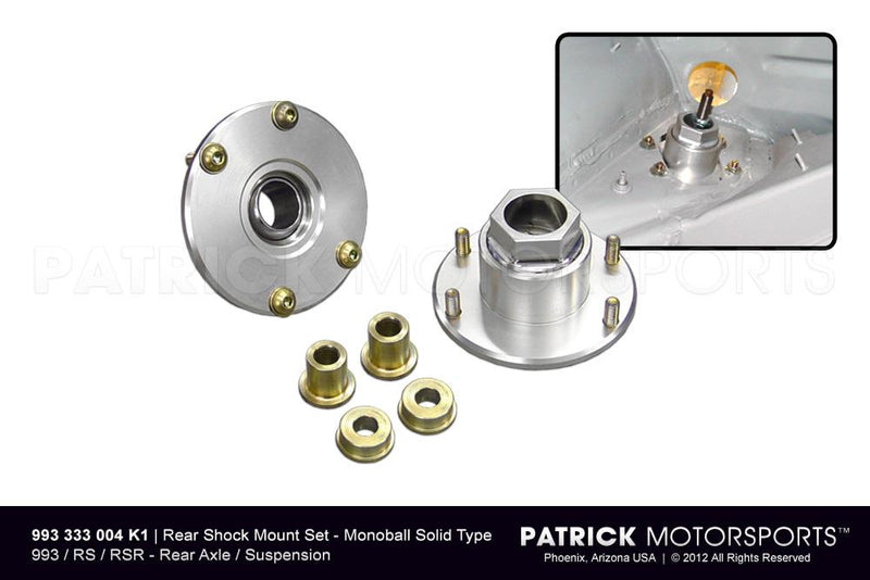 993 REAR SHOCK MOUNT KIT - SOLID MONOBALL RS RSR- SUS993333004K1