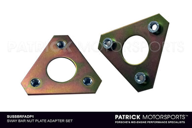 SUS SBRFADP1: SWAY BAR NUT PLATE ADAPTER SET