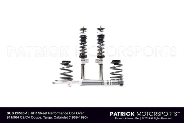 H and R Street Performance Coilover Suspension Kit For Porsche 964 SUS 29580 1 / SUS 29580 1 / SUS-29580-1 / SUS.29580.1 / SUS295801