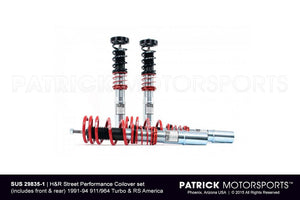 H&R STREET PERFORMANCE COILOVER KIT FOR 91-94 PORSCHE 964 TURBO & RS AMERICA- SUS298351