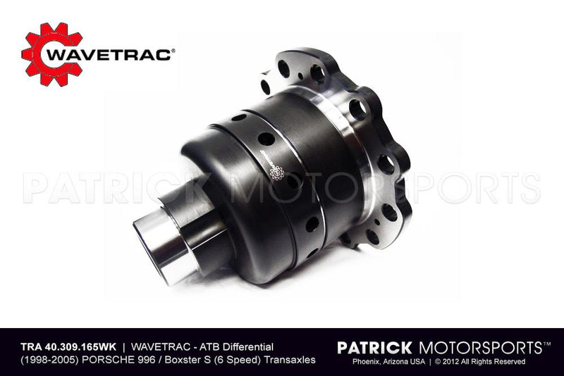 ATB DIFFERENTIAL - 996 / 986 BOXSTER S - WAVETRAC DIFF- TRA40309165WT