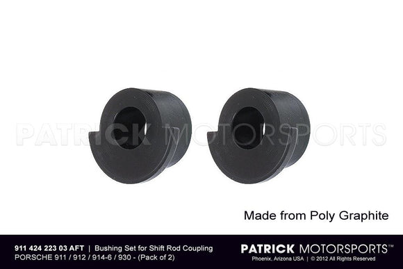BUSHING SET FOR TRANSMISSION SHIFT ROD COUPLING- TRA91142422303AFT