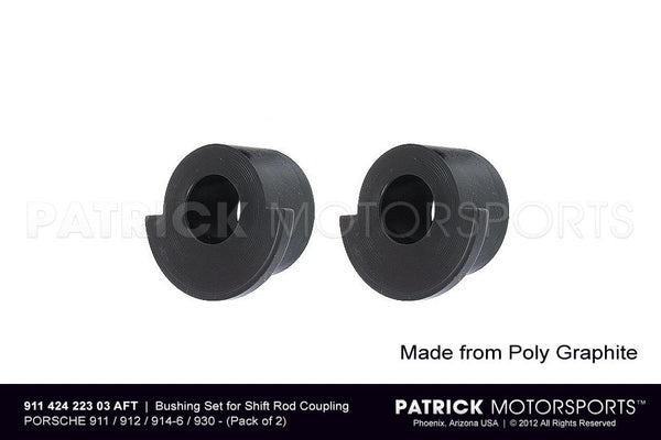Transmission Shift Rod Coupling Bushing Set For Porsche 901 / 915 / 930 Transmissions TRA 964 424 223 00 AFT / TRA 911 424 223 03 AFT / TRA-911-424-223-03-AFT / TRA.911.424.223.03.AFT / TRA91142422303AFT