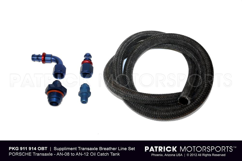 TRA 911 914 OBT: 	 TRANSMISSION BREATHER LINE SYSTEM TO OIL CATCH TANK