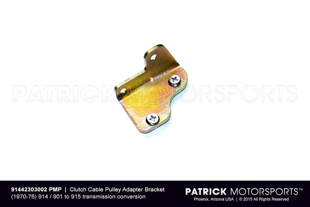 TRA 914 423 030 02 PMP: ADAPTER BRACKET KIT FOR CLUTCH CABLE PULLEY HOUSING BEARING BRACKET