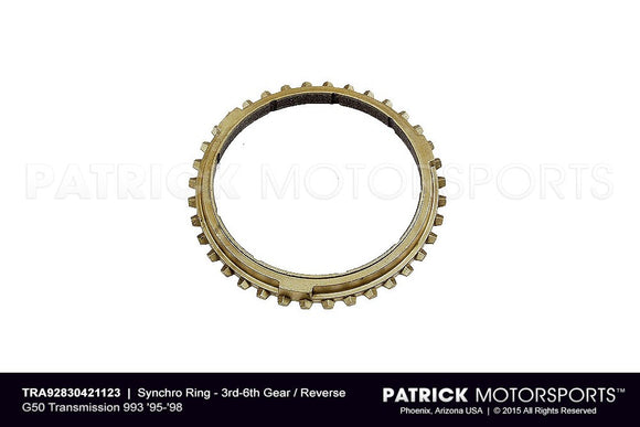 SYNCHRO RING - 3RD-6TH GEAR / REVERSE - G50 993 1995-1998- TRA92830421123