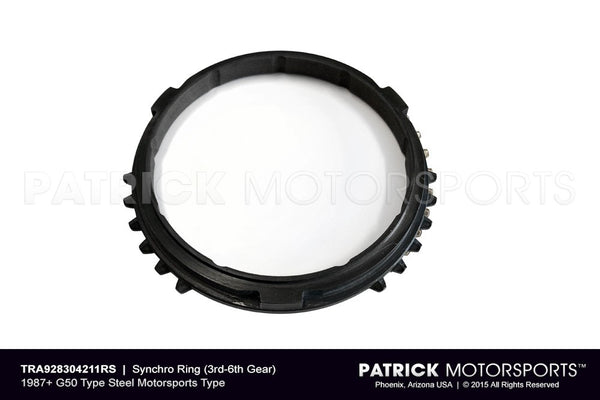 SYNCHRO RING (3RD-6TH GEAR) - STEEL MOTORSPORTS TYPE- TRA928304211RS