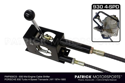 930 Cable Shifter System 1975 - 1988 / Porsche 930 Turbo 4 Speed Transmission TRA 930 424 CABS PMP / TRA 930 424 CABS PMP / TRA-930-424-CABS-PMP / TRA.930.424.CABS.PMP / TRA930424CABSPMP