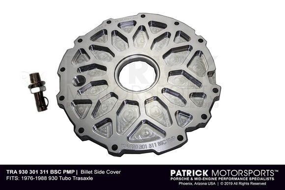 Porsche 911 Turbo Carrera / 930 Transmission Side Cover - Billet (TRA 930 301 311 BSC PMP)