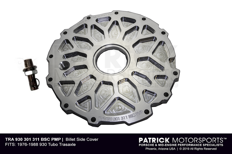 Porsche 911 Turbo Carrera / 930 Transmission Billet Side Cover (TRA 930 301 311 BSC PMS)