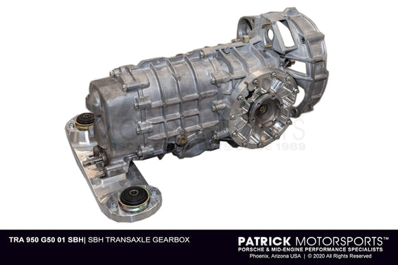 Blueprinted G50 Shortened Bell Housing Transmission TRA 950 G50 01 SBH /