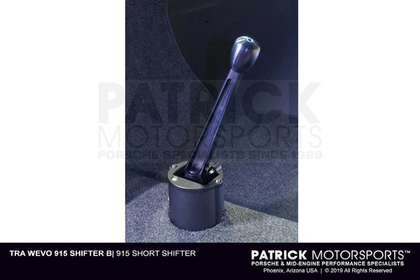 Porsche 911 - 915 Short Shifter - Black Anodized (TRA WEVO 915 SHIFTER B)