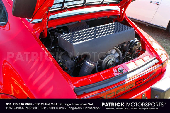 930 TURBO CHARGE AIR INTERCOOLER SET - 630 CI FULL WIDTH CONVERSION- TUR930110330PMS
