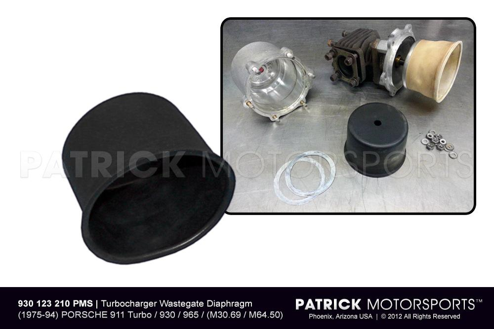 TUR 930 123 210 PMP: TURBOCHARGER EXHAUST WASTEGATE DIAPHRAGM MEMBRANE 911 TURBO / 930 / 965 / 934 / 935 / 962 / 956 / 924 TURBO / 924 GTS