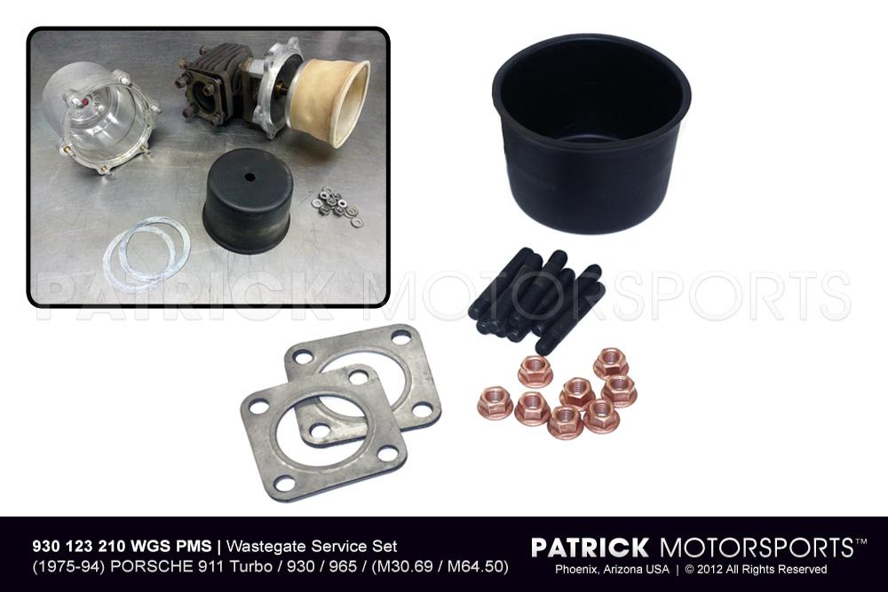 TUR 930 123 210 WGS PMS: EXHAUST WASTEGATE SERVICE SET - 911 TURBO - 930 - 965