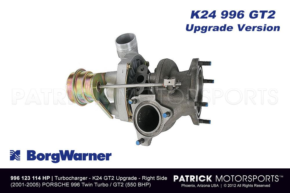 TUR 996 123 114 HP: TURBOCHARGER BORG WARNER K24 911 / 996 / GT2 TURBO RIGHT
