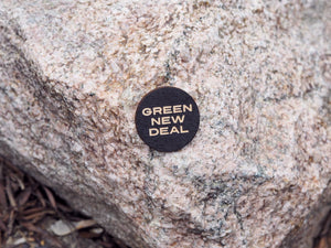 """Green New Deal"" button"