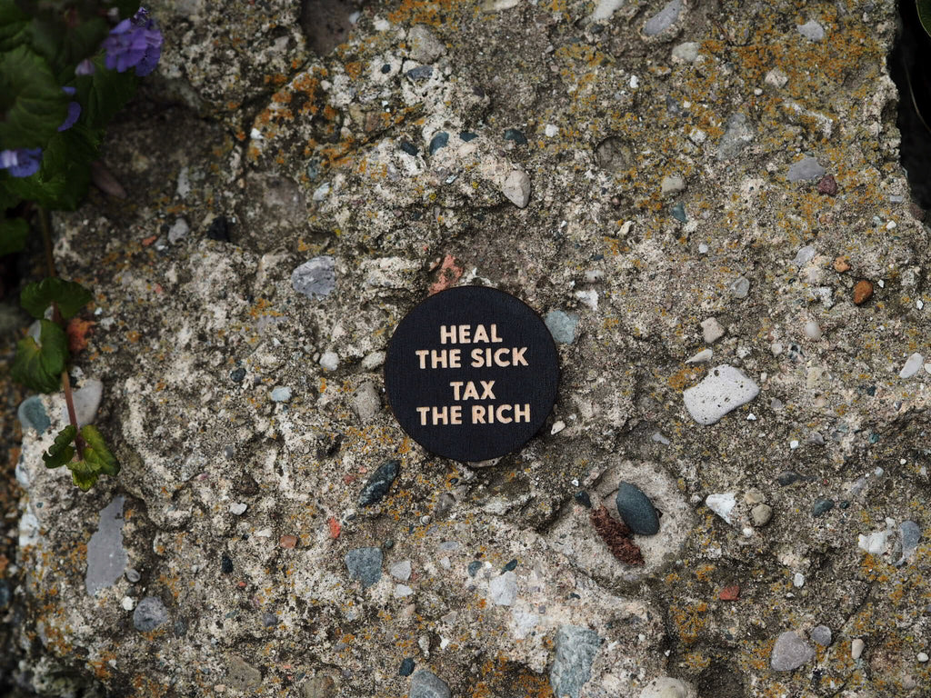 """Heal the Sick"" button"