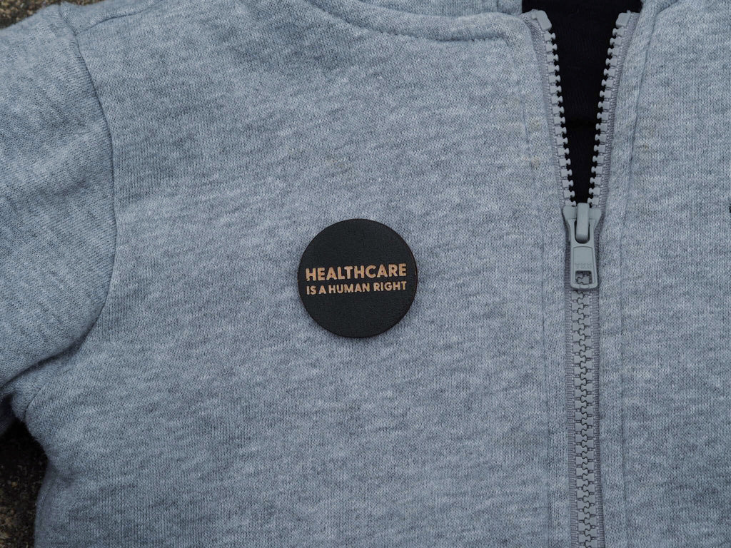"""Healthcare"" button"