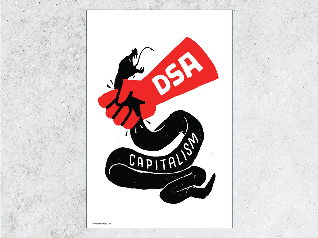 Capitalism poster