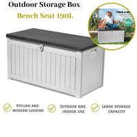 Indoor and Outdoor Storage Box