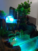 LED Water Fountain Feature
