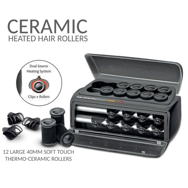 Ceramic Heated Hair Rollers