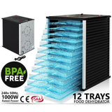 12 Tray Commercial Food Dehydrator