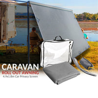 Caravan Roll Out Awning