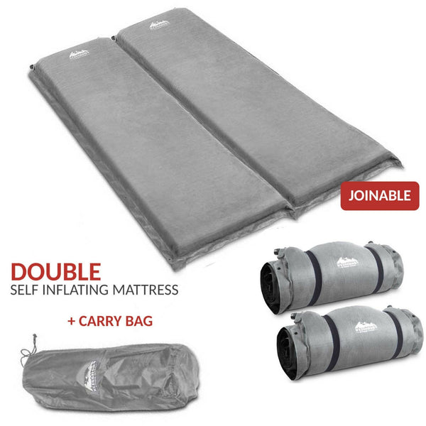 Double Self Inflating Mattress