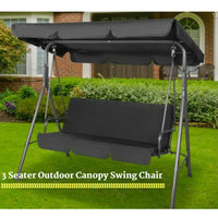 Outdoor Canopy Swing Chair