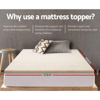 Queen Size Latex Mattress Topper