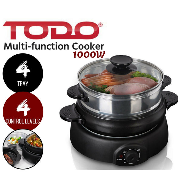 4 Tray Electric Cooker