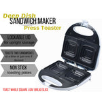 Deep Dish Sandwich Maker with Nos-stick Griddle
